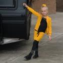 Vest Maddy Yellow velvet