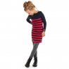 Jurkje Lizz Stripe red-navy