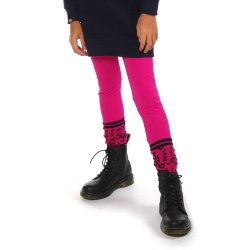 Legging (lang) Fuchsia