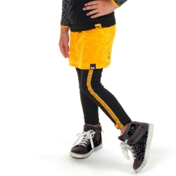 Rokje Daniek Yellow velvet