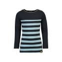 Longsleeve Kaya Stripe air blue-navy