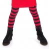 Legging (lang) Stripe red-navy