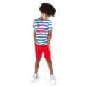 Shortsleeve Cooper french blue stripe