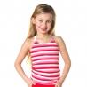 Top Desie pink/red stripe