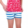 Shorts Nova french blue stripe