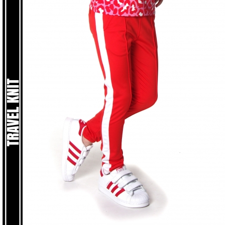 Travelpants Hind red