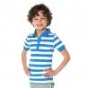 Polo Manu french blue stripe