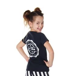 Shortsleeve Cleo navy