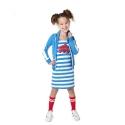 Jurkje Quinty french blue stripe