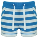 Shorts Nova french blue stripe