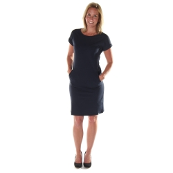 Dames jurk navy